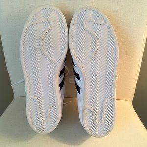 adidas Shoes - Adidas Superstars in collegiate navy velvet